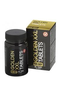 """Таблетки за уголемяване на пениса и по-силна ерекция """"GOLDEN XXL BIG BOY"""" 45 таблетки"""