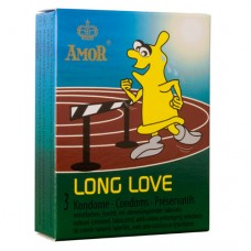 """Презервативи  """"AMOR LONG LOVE"""" 3 бр. Презервативи"""