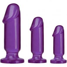 "Комплект пенис отливки """"GRAB JELLIE 3 бр. Отливки / Дилда"