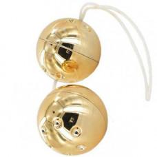 """Анално-вагинални топчета """"GOLD BALLS"""" 2 бр. Топчета"""
