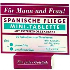 Възбуждащи таблетки '' ИСПАНСКА МУХА '' мини 30 таблетки Секс стимулатори
