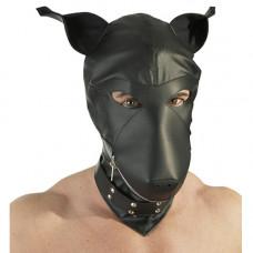 """Кожена кучешка маска за лице """"DEVOTION MASKE"""" Унисекс Садо-Мазо / B.D.S.M."""