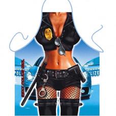 "Готварска престилка с еротични мотиви ""ITATI SEXY POLICE GIRL"" Секс шеги"