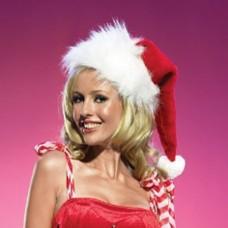 Коледна шапка Бельо за нея