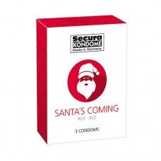 Презервативи Santa's Coming, 3 бр. Презервативи