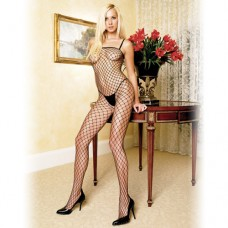 Lycra Industrial Fishnet Bodystocking Бельо за нея
