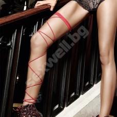 Wrap around leg garter 1209 Бельо за нея