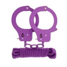 Комплект за връзване, въже и белезници Садо-Мазо / B.D.S.M.