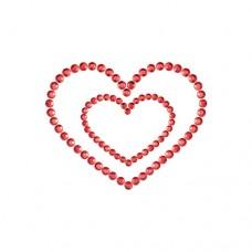 Бижута за гърди Mimi Heart Садо-Мазо / B.D.S.M.